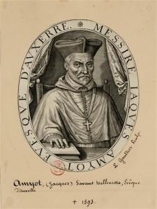 Portrait de Jacques Amyot par Léonard Gaultier (source : rmn)