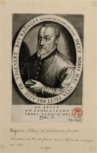 Blaise de Vigenère (source : rmn)
