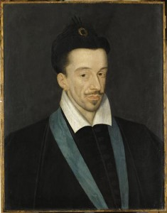 François Quesnel, Portrait d'Henri III, v. 1588 (source : rmn)