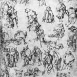 Jérôme Bosch, Mendiants et estropiés, Bibliothèque Royale Albert I, Bruxelles, s. d. (source : wga)