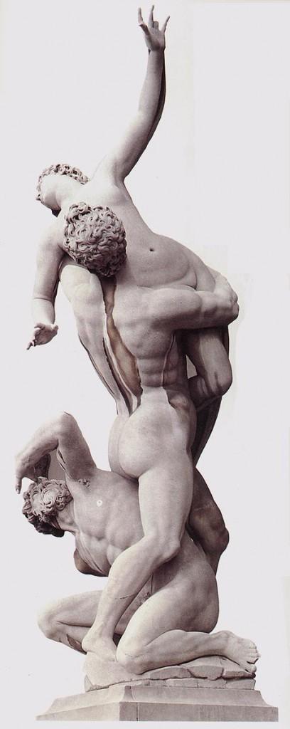 "Giambologna, ""L'enlèvement des Sabines"", Loggia dei Lanzi, Florence, 1581-83 (source : wga)"