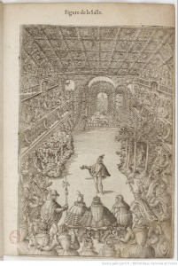 Balthasar de Beaujoyeulx, Le Ballet comique de la reine, 1582 (source : Gallica)