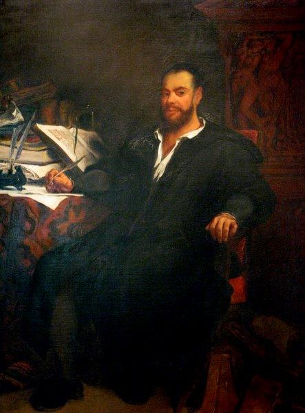 Eugène Delacroix, Rabelais, Chinon,1833 (source : http://www.richardkelley.co.uk/chinon_index.htm#top)