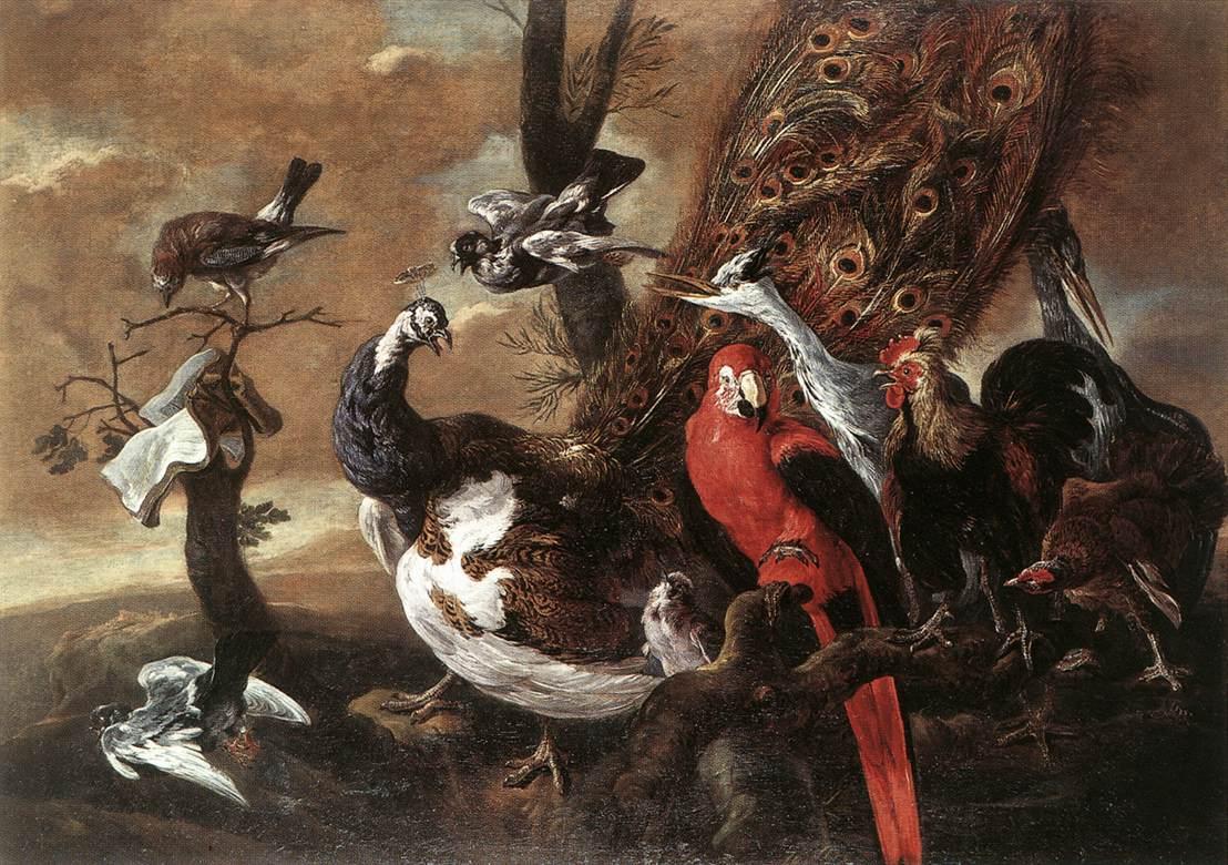 Jan Fyt, Concert des oiseaux, Rockox House, Anvers, s.d. (source : wga)
