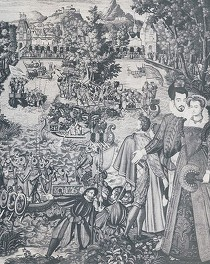 Antoine Caron (?), Tapisseries des Valois, v. 1580-1581, Florence, Uffizi
