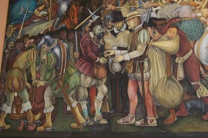 Diego Rivera, Fresque, Palacio Nacional, Mexico (photographie : Anne Debrosse)