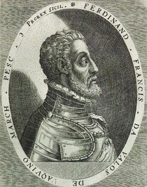 Dominicus CUSTOS (1560-1612), Fernando Francesco d'Avalos (Marquis de Pescara), (Source : Wikipédia)