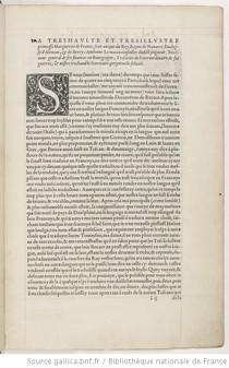 """""""Le Décaméron de Messire Jehan Bocace, florentin, nouvellement traduict d'italien en françoys par Maistre Anthoine Le Maçon..."""", pour Estienne Roffet, Paris, 1545. Page 1 de la dédicace. (BNF/Gallica)"""