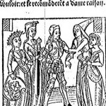 Martin Le Franc, Le Champion des Dames, 1440-1441, Franc-Vouloir contre Malebouche (source : Gallica)