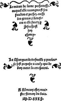 miroir-de-l-âme-pécheresse-a-alençon-chez-simon-du-bois-1531-source-wiki