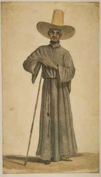 Père jésuite au Brésil, Anonyme, XVIIIe siècle (source wikimedia commons)
