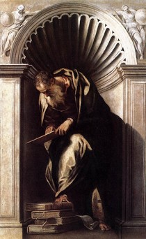 "Paolo VERONESE, ""Aristote"", (années 1560), Venise, Biblioteca Nazionale Marciana (source : WGA)."