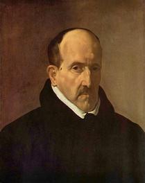 Portrait de Gongora, 1622 (source : wikipédia)