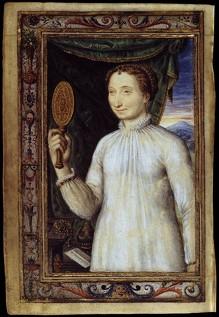 """""""Portrait de Marguerite d'Angoulême"""", vers 1530, Bibliothèque Nationale, Paris (source : wga)"""