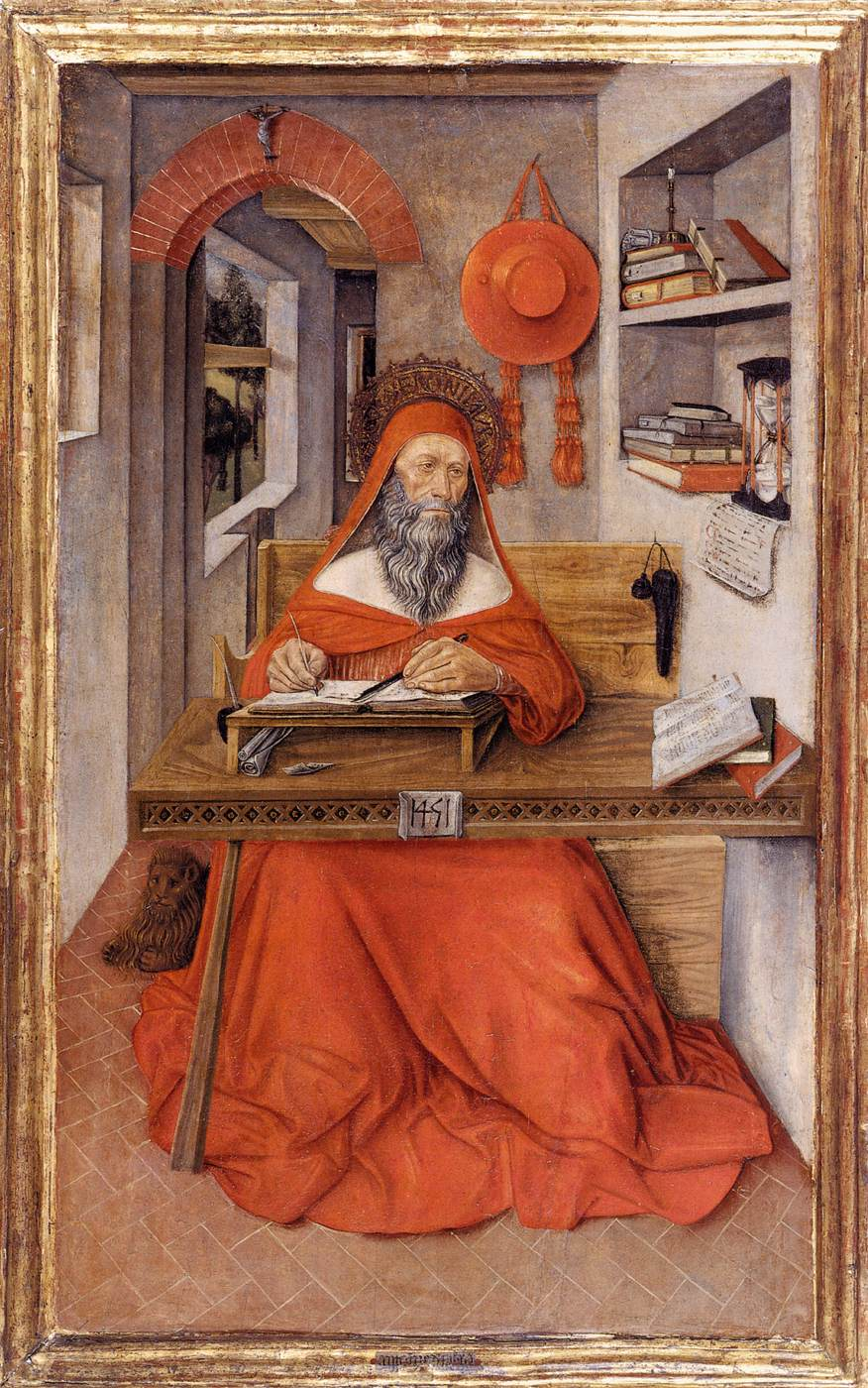 Antonio da Fabriano, Saint Jérôme, Walters Art Museum, Baltimore, 1451 (source : wga)