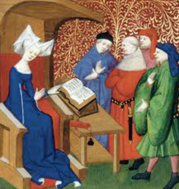 Christine de Pizan (source : Gallica)