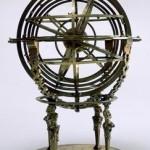 sphère armilliaire flamande de 1568 (source : http://www.cnes-observatoire.net/memoire/musee_manif/01_jep05_patrimoine-espace/42.html)