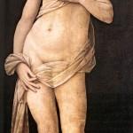 Lorenzo di Credi, Vénus, Galleria degli Uffizi, Florence, 1493-1494 (source : wga)