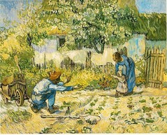 Vincent van Gogh, Les premiers pas, The Metropolitan Museum of Art, New York, 1890 (soucre : wikipedia