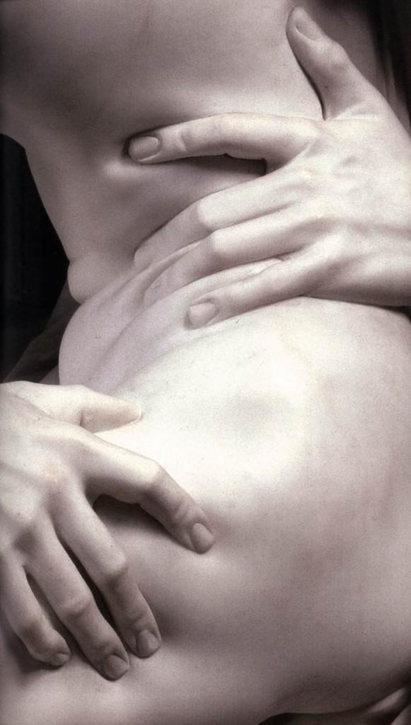 """LE BERNIN, """"Le Rapt de Proserpine"""" (détail), (1621-1622), Rome, Galerie Borghèse (source : WGA)."""