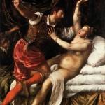 Le Titien, Tarquin et Lucrèce, entre 1568 et 1571, Cambridge, Fitzwilliam Museum.
