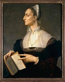 Agnolo Bronzino, Ritratto di Laura Battiferri, Palazzo Vecchio, Firenze (source: wikipédia)