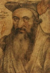 Anonyme : Portrait de Guillaume Postel (source : wikipédia)