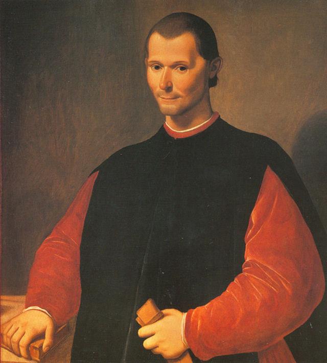 Santi di Tito, Portrait posthume de Nicolas Machiavel, seconde moitié du XVIe siècle, Palazzo Vecchio, Florence (source : Wikimedia commons)