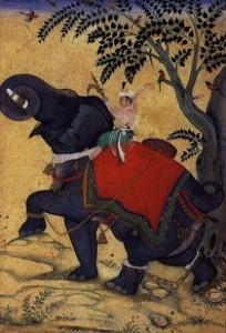 miniature-de-l-école-moghole-inde-1609-10