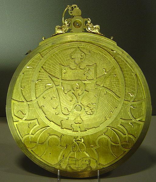 Gualterus Arsenius, Astrolabe, Musée des Arts et Métiers, 1569 (source : wikipedia)