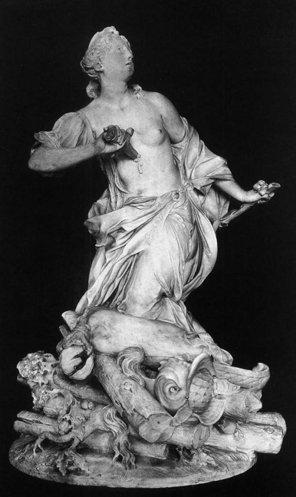 "Claude-Augustin CAYOT, ""La Mort de Didon"", (1711), Paris, Musée de Louvre ( WGA)."
