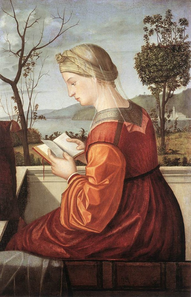 Vittore Carpaccio, La Vierge lisant, 1505-10, National Galery, Washington (WGA)