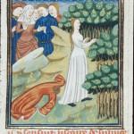 The Talbot Master, Sulpicia, miniature issue du De claris Mulieribus (site de la British Library).