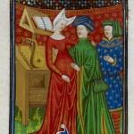 The Talbot Master, Sempronia, miniature issue du De claris Mulieribus dans une traduction française, c. 1440 (source : site de la British Library)