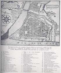 Carte de Manille. Fr. Ignacio Muñoz, 1671 AGI, Filipinas, 86.