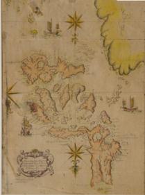 Carte des Philippines. Marcos de Orozco, 1659 (Phimcos.org)
