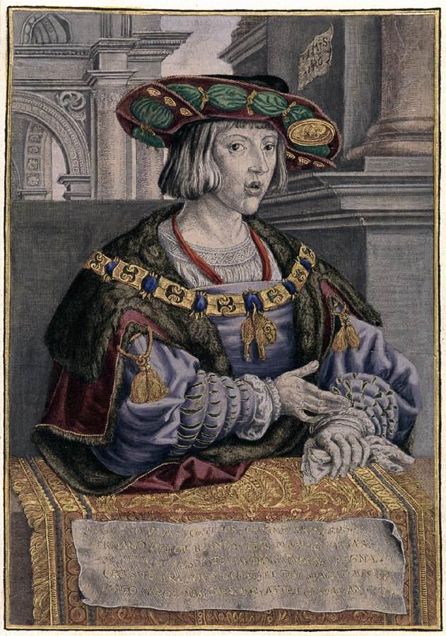 """Jan GOSSART, """"Charles Quint"""", (1520), Braunschweig, Herzog Anton Ulrich-Museum (source : WGA)."""