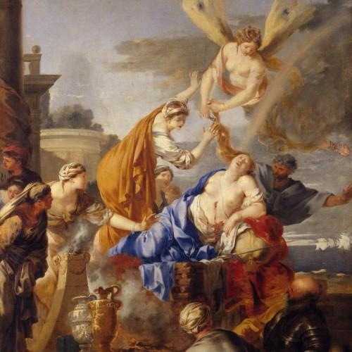 LE VERGER - Bouquet V : Didon se sacrifiant et La péninsule ibérique et le monde