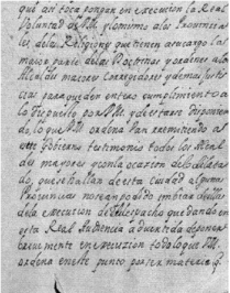 Lettre de l'Audiencia de Manille sur l'enseignement de l'espagnol aux indiens. AGI,FILIPINAS,25,r.1,n.8 (1686)