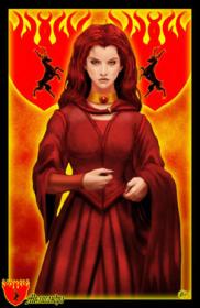 Mélisandre (source : wikipédia).