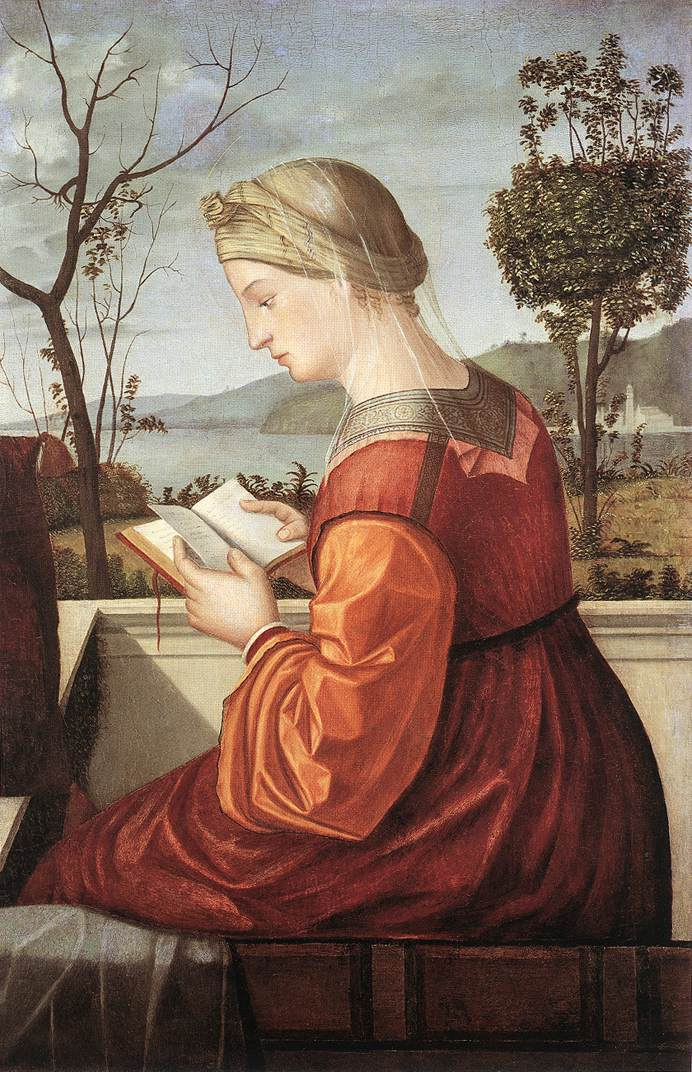 Vittore CARPACCIO, La Vierge lisant, 1505-10, National Gallery of Art, Washington (WGA)