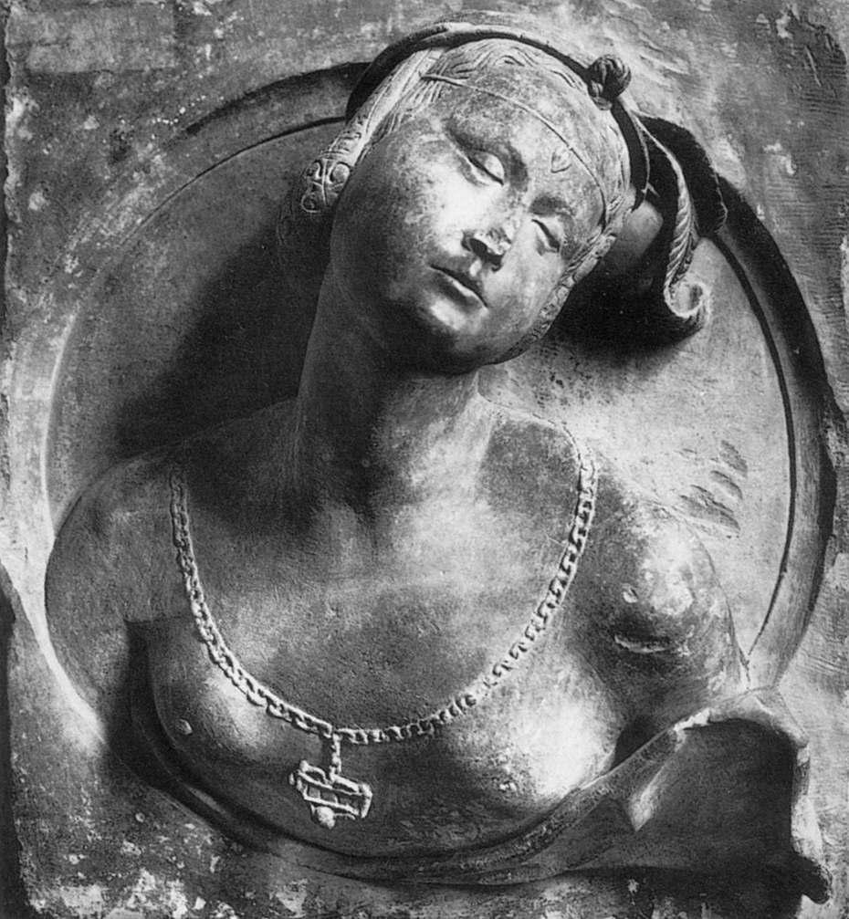 Anonyme, Buste de femme en médaillon, 1532 , Musée des Beaux Arts Lyon