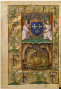 Claude de Seyssel, La Grant, Monarchie de France, circa 1515, Parchemin enluminé BnF, département des Manuscrits