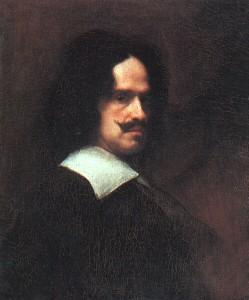 Diego Rodriguez de Silva y VELÁZQUEZ,  auto-portrait, 1643, Galleria degli Uffizi, Florence (wga)