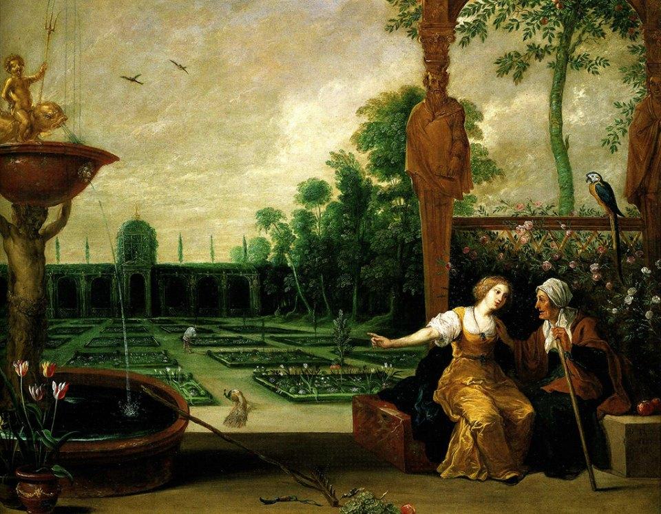 Cornucopia site de recherche universitaire consacr au for Jardin renaissance