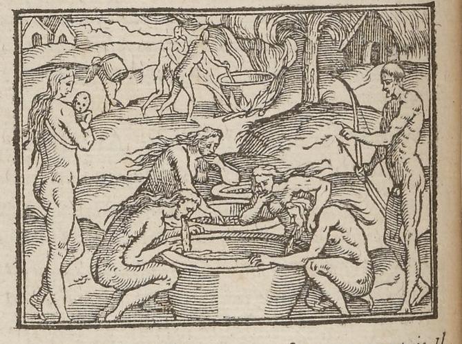 Gravure (Ch. 24), Andre Thevet, Les singularitez de la France Antartique, Antwerp, Plantin, 1558