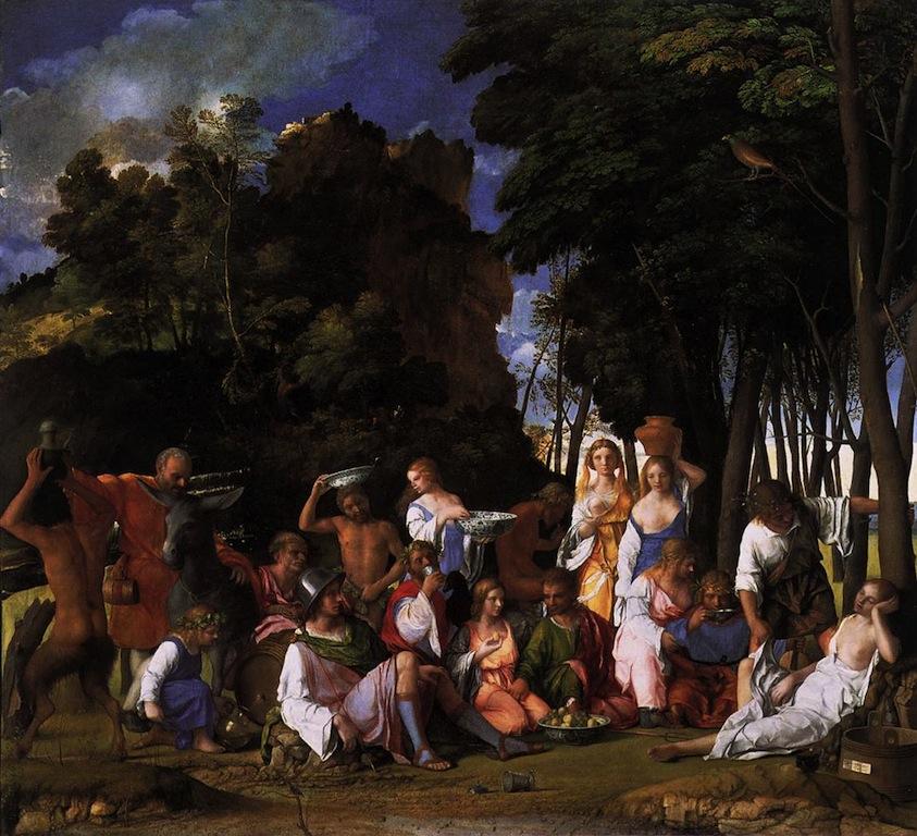 BELLINI, Giovanni Le festin des Dieux, 1514 Huile sur toile, 170 x 188 cm National Gallery of Art, Washington