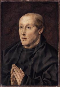"""Goossart Jan, """"Portrait d'un moine"""", (1526), Paris, Musée du Louvre, (source : WGA)"""