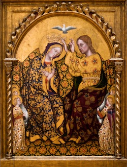 Gentile da Fabrian, Couronnement de la Vierge, 1420, Los Angeles, Getty