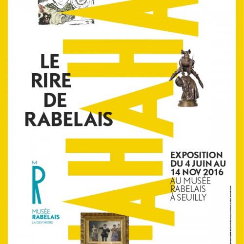 Exposition : Le rire de Rabelais (4 juin-14 novembre 2016)
